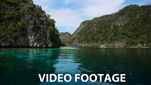 Wonderful lagoon in Graphics