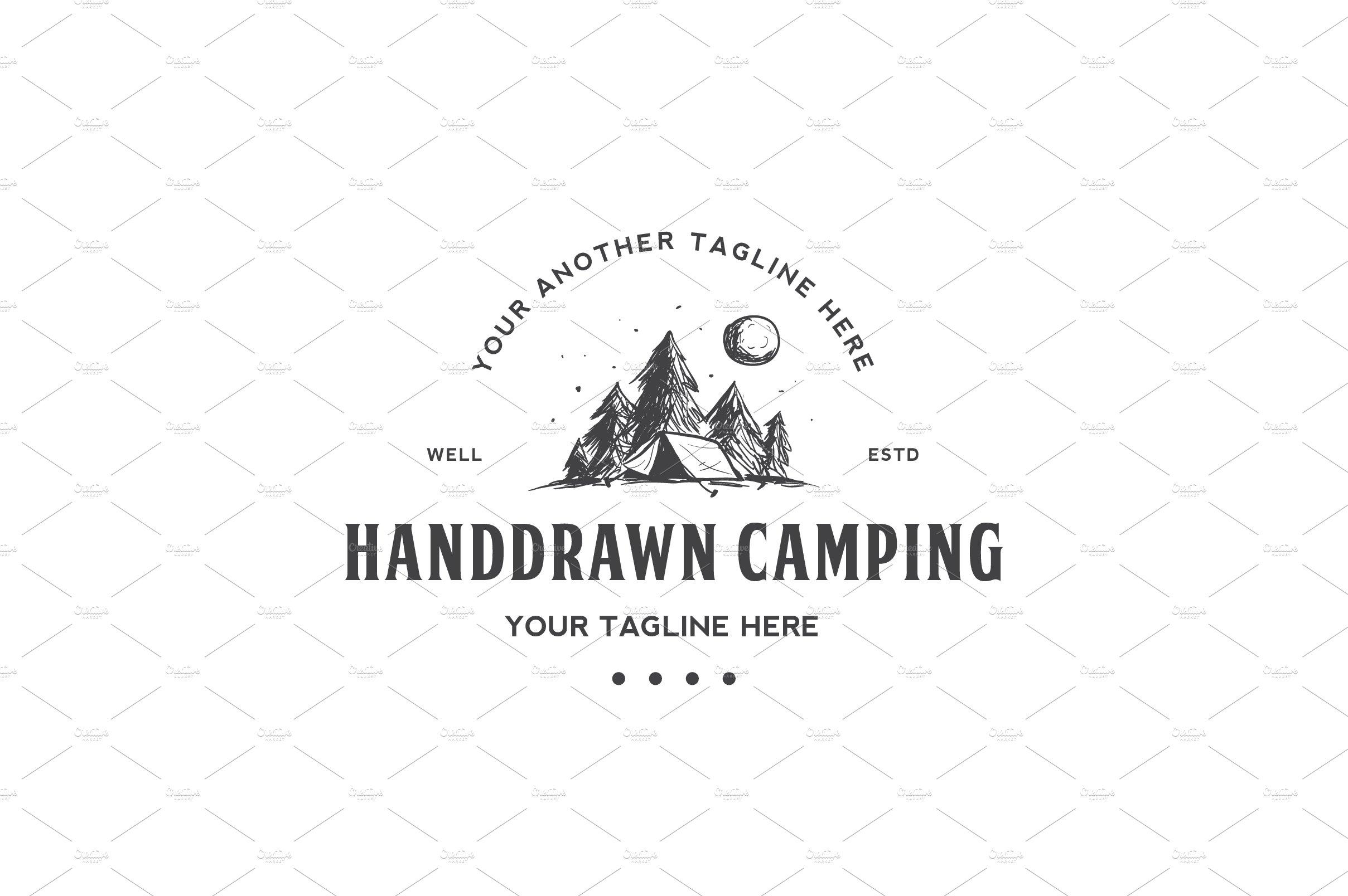 Camp ~ Logo Templates ~ Creative Market