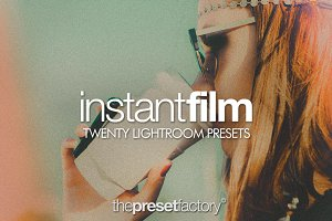 Instant Film - Lightroom Presets