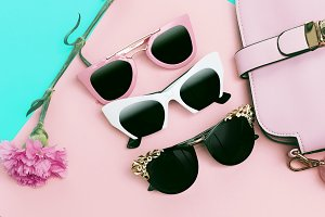 Ladies Sunglasses Set