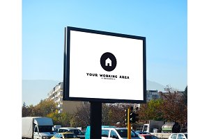 Urban Billboard Mockup