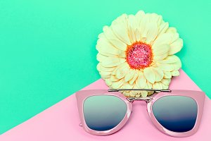 Fashionable Sunglasses Pastel Colors