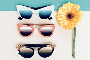 Sunglasses fashion Set