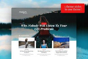 Medym - 5 Blogs styles in 1 theme