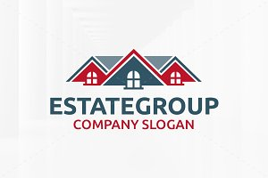 Estate Group Logo Template