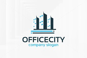 Office City Logo Template