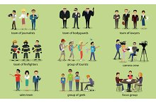 Different Groups of People