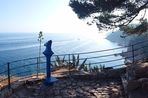 Tossa de Mar (Costa Brava) in Spain