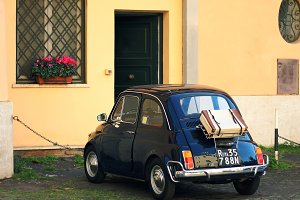 Vintage car, Fiat 500