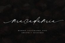 Macadamia | Handwritten Font by  in Fonts