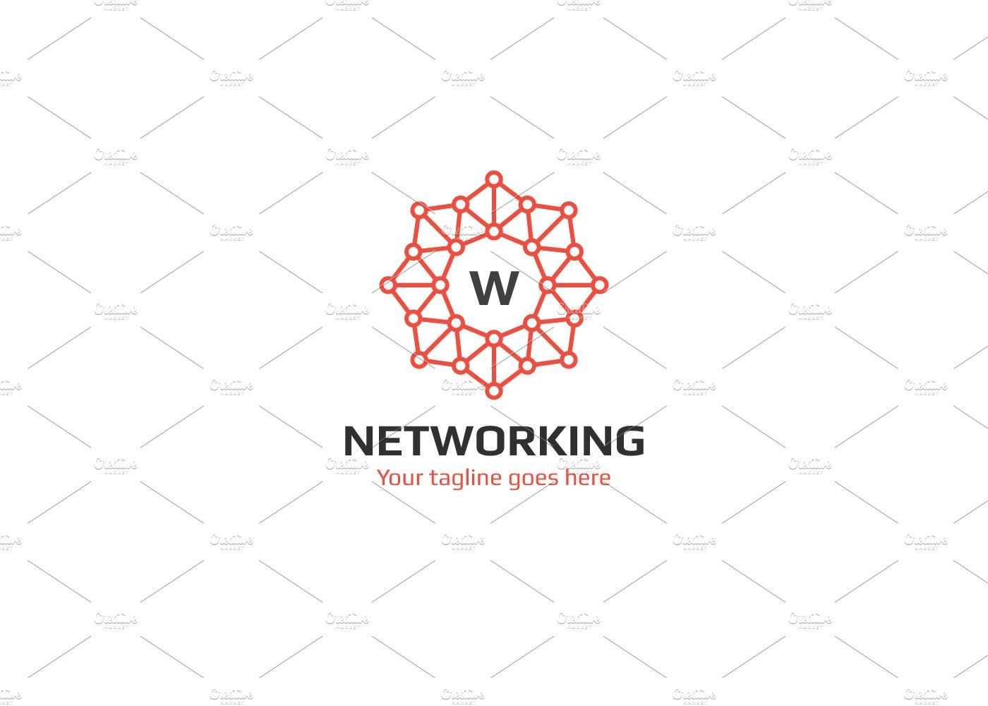Networking Logo ~ Logo Templates ~ Creative Market