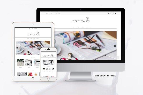 Milk WordPress-Genesis Child Theme