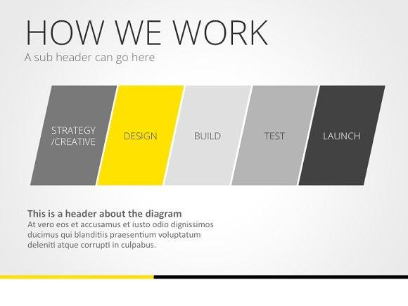 universal pitch deck three powrpoint presentation templates