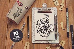 10 Sketch Mockups vol.2