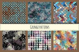 Grunge patterns.