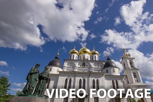 Ancient Christian church Timelapse
