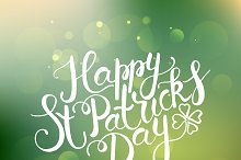 St. Patrick's Day Calligraphy