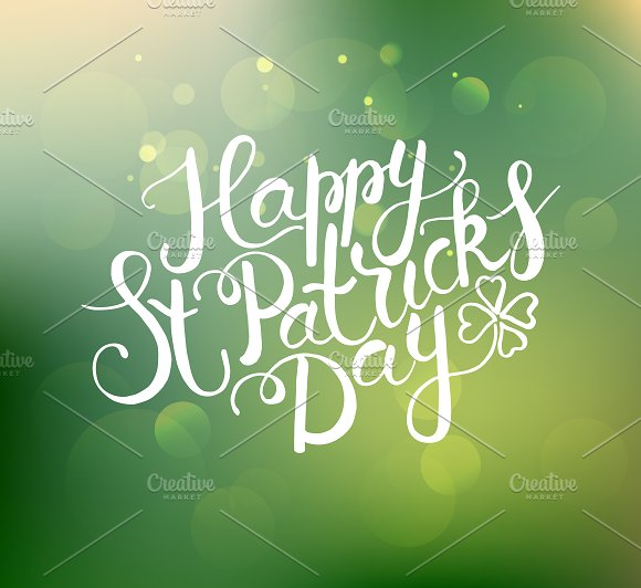 St. Patrick's Day Calligraphy  - Cards