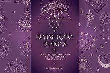 Logo Designs, Elements, Patterns by  in Templates