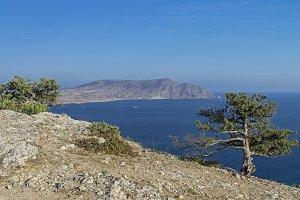 Crimea. View of the Cape Meganom.