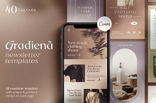 Gradiena Newsletter Templates by  in Email