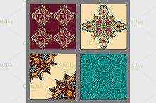 Vintage decorative elements.