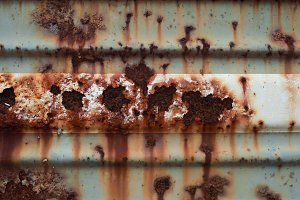Metal with rust texture background