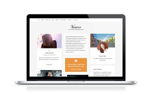 Venice, WooCommerce blog theme