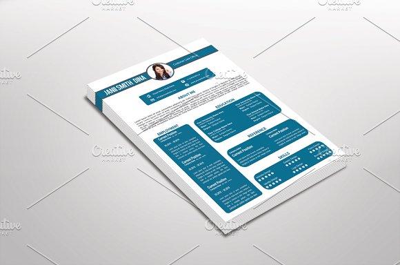 Customa Resume Template