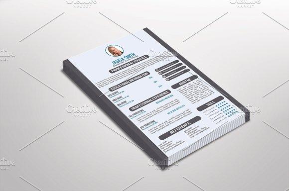 Customia Resume Template