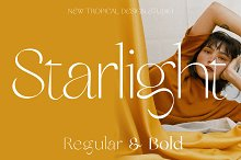 Starlight - Modern Typeface by  in Fonts