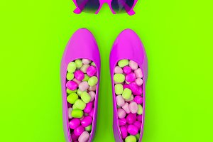 Sweet Sunglasses and Shoes