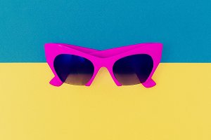 Pink Fashion Sunglasses