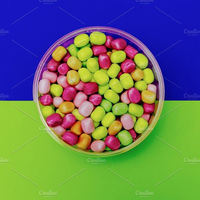 Bucket Sweet Drops. Minimalism - Beauty & Fashion