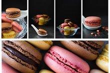 Macarons pack. 20 photos