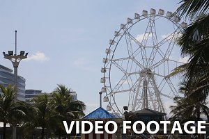 Ferris wheel at an amusement park