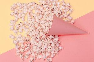 Vanilla Fashion Style Popcorn