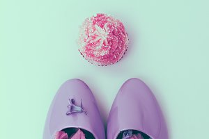 Sweet Flowers Shoes Minimal