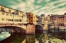 Ponte Vecchio, Florence. Vintage.