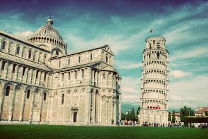 Pisa Cathedral, Tuscany, Italy.