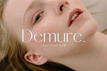 Demure - Clean Sans