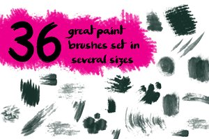 Top paint brushes