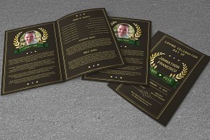 Funeral Program Template-V423
