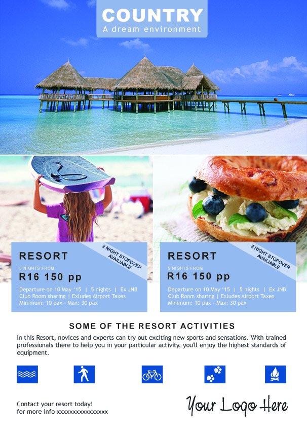 Travel Flyer Flyer Templates Creative Market