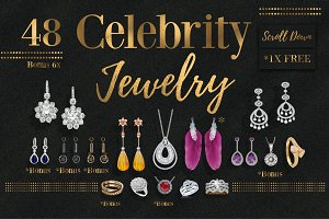 25%Off-Celebrity Jewelry 48 Edition