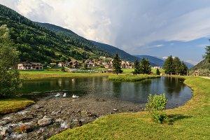 Trentino - park in Vermiglio
