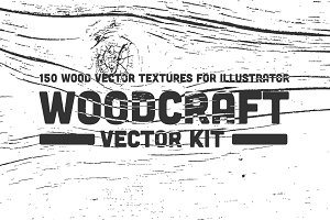 Woodcraft Vector Kit