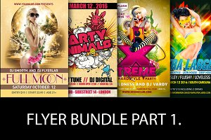 Flyer Bundle Part 1