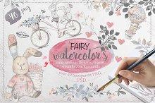 Fairy watercolors