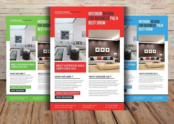 interior design brochure template free - interior design flyer template flyer templates